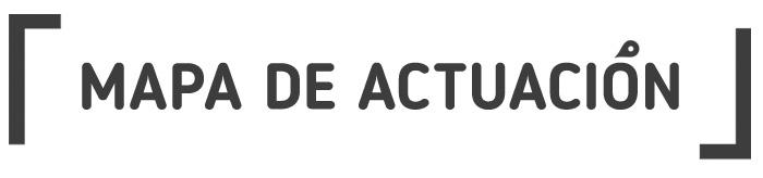 MAPAS DE ACTUACIÓN