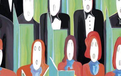 """""""MUJER en mayúsculas""""… Coro Virgen Blanca y Grupo de Teatro Carmen Martín Gaite."""