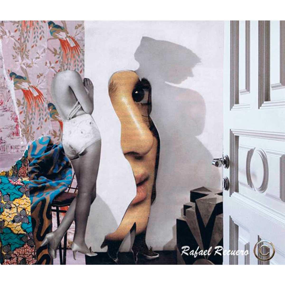 RAFAEL RECUERO - Cita con Venus (collage)