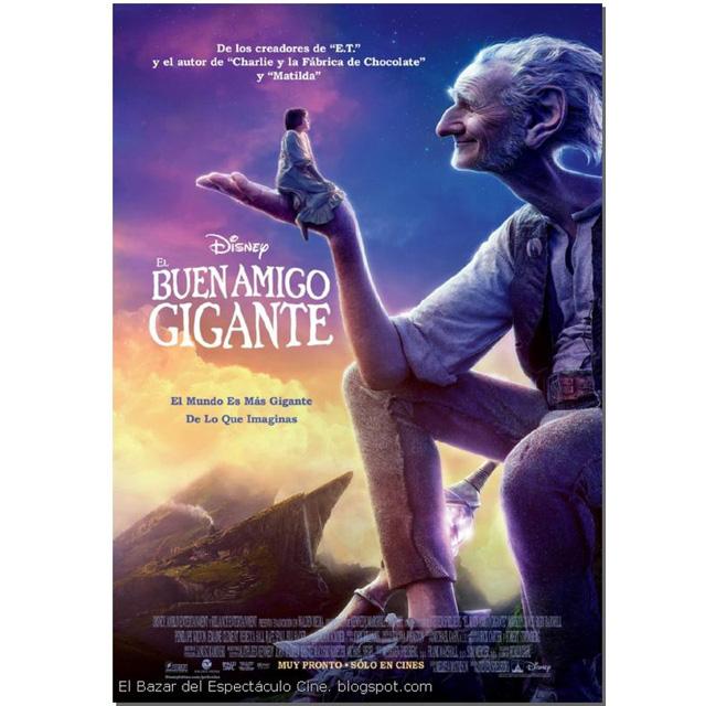 poster de la pelicula mi amigo el gigante