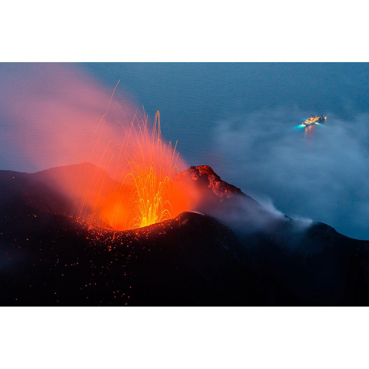 JAVIER SÁNCHEZ - Montañas de fuego.