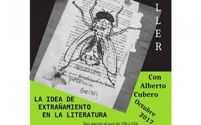 """Taller: """"La idea del extrañamiento en la literatura"""""""