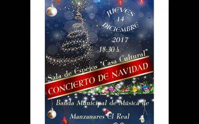Concierto de Navidad: Banda Municipal de Manzanares El Real.