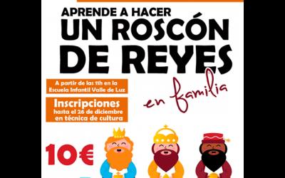 Taller: Roscón de Reyes. En familia.