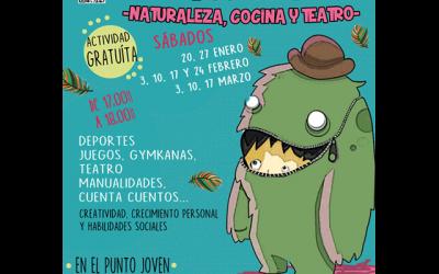 """Ludoteca: """"Naturaleza, cocina y teatro"""""""
