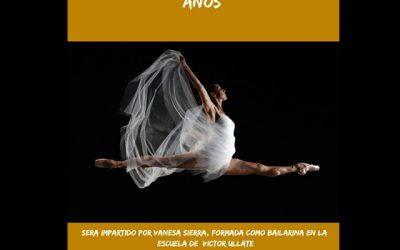 Danza Clásica, de 4 a 10 años.
