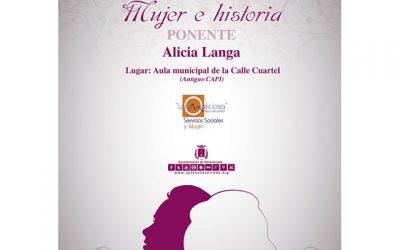 """Conferencia: """"Mujer e Historia"""". Alicia Langa"""