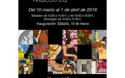 """Exposición: """"Interpretando a los grandes maestros"""""""