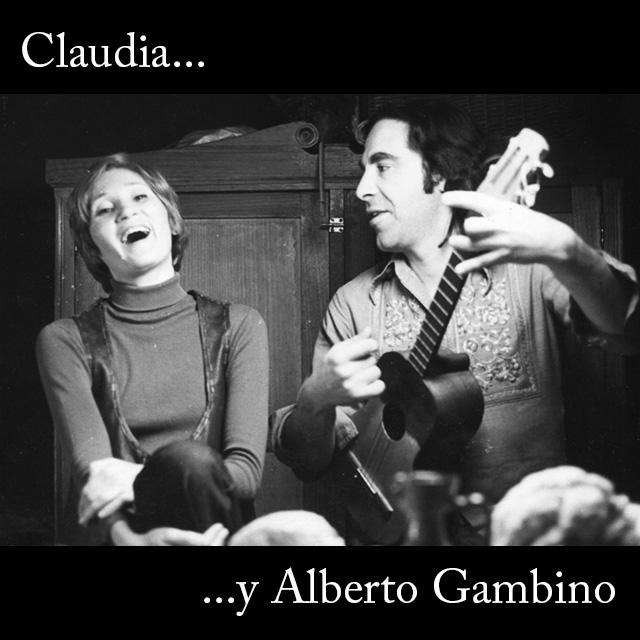 Claudia y Alberto Gambino
