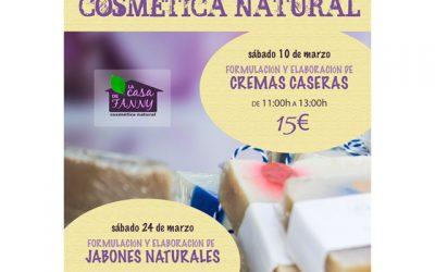 Talleres de Cosmética Natural: Cremas Caseras y Jabones Naturales.