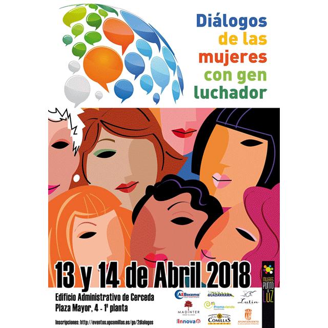 """Diálogos de mujeres con gen luchador"""