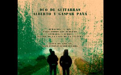 Alberto y Gaspar Payá. Dúo de guitarras.