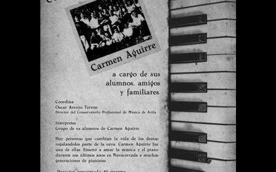 Concierto homenaje a Carmen Aguirre