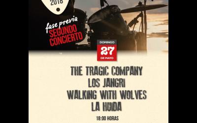 Festival Stone Alpedrete 2018. Fase previa: Segundo concierto.