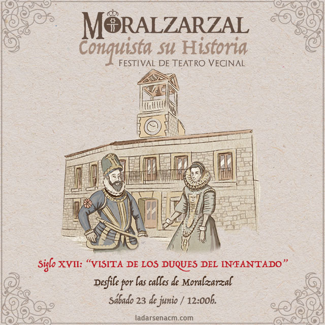 """Siglo XVII: """"Visita de los Duques del Infantado"""""""