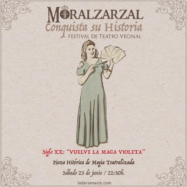 """Siglo XX: """"Vuelve la Maga Violeta"""""""