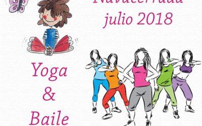 Intensivos de Yoga y Baile en Navacerrada