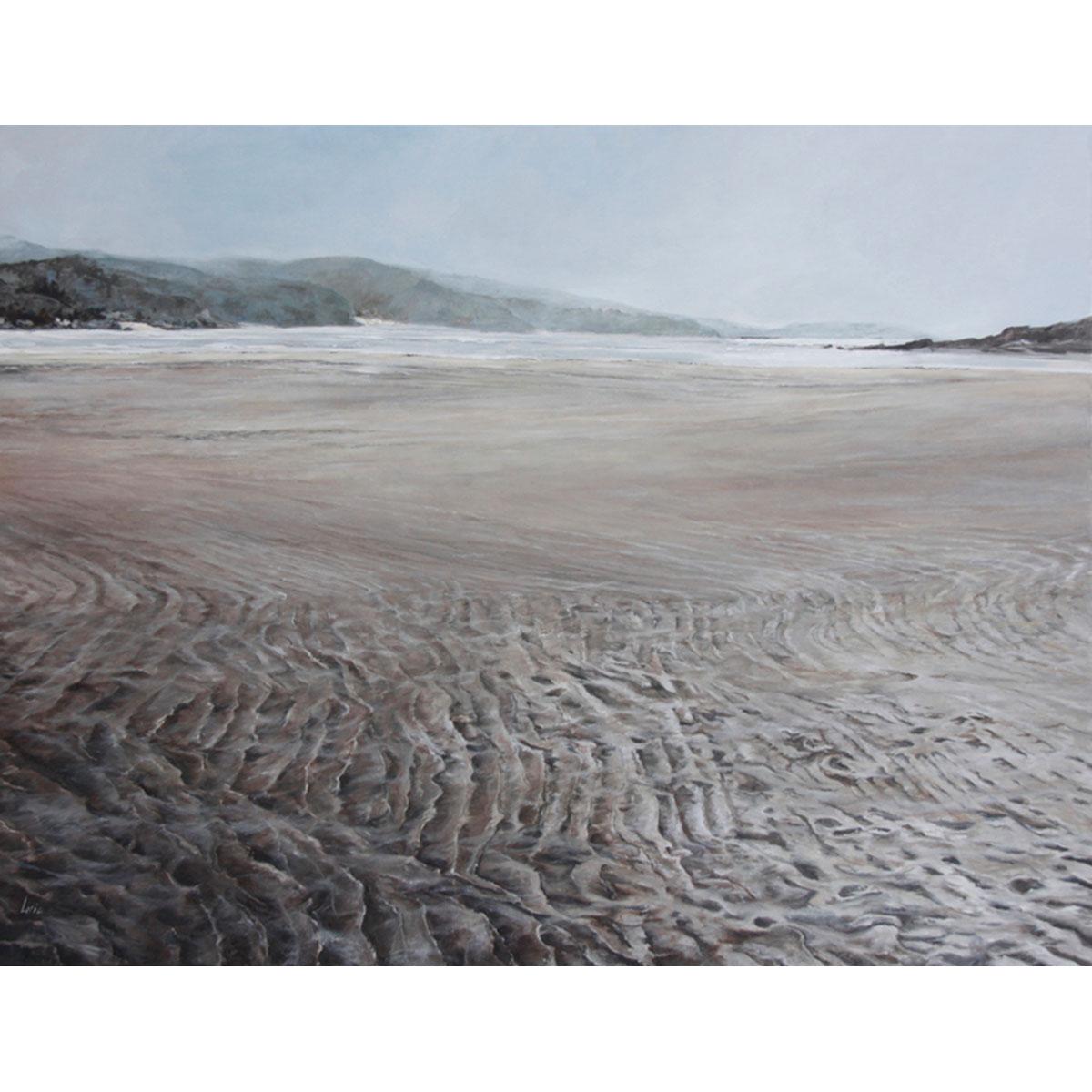 NURIA LIRIA - Marea baja. Óleo sobre lienzo. 100x130cm.