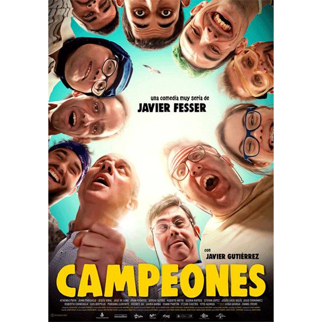 """Cine de verano: """"Campeones"""""""