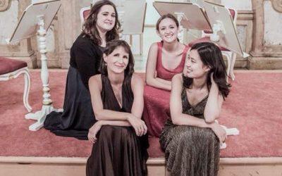 """Constanze Quartet Salzburg: """"Una paleta de contrastes""""."""