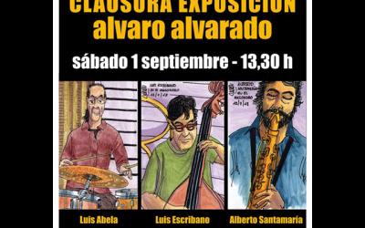Jam Session: Clausura  de la exposición de Álvaro Alvarado