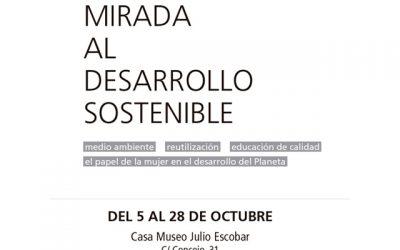 """""""Una mirada el desarrollo sostenible"""". Tres exposiciones y dos talleres."""