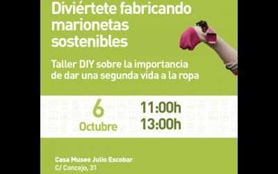 """Taller de marionetas """"sostenibles"""""""