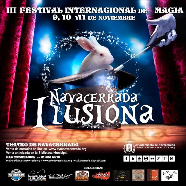 "III Festival Internacional de Magia ""Navacerrada Ilusiona 2018"""