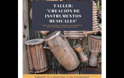 """Taller: """"Creación de instrumentos musicales"""""""