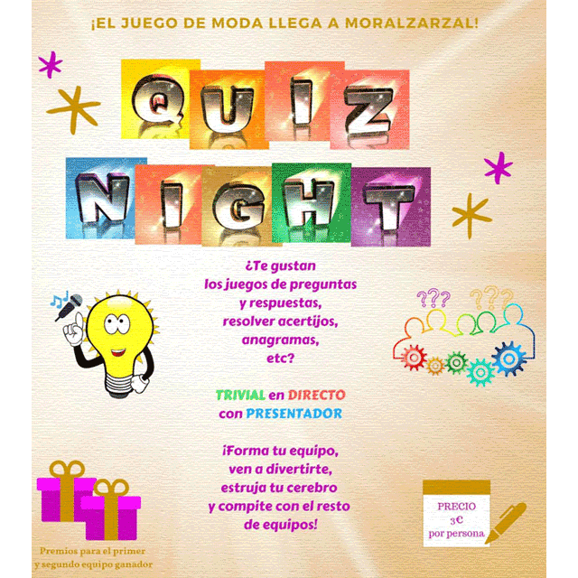 Quiz Night Sorcas