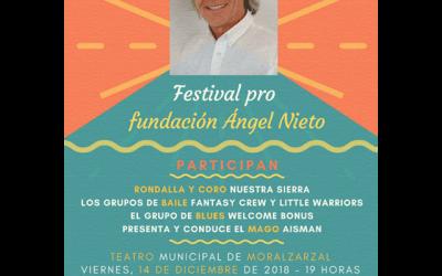 Festival benéfico pro Fundación Ángel Nieto