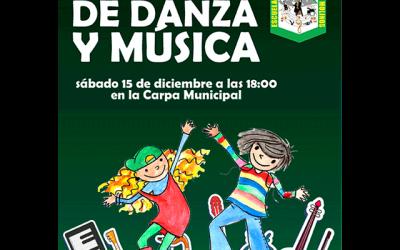 Festival navideño de Música y Danza: Escuela de Los Molinos.