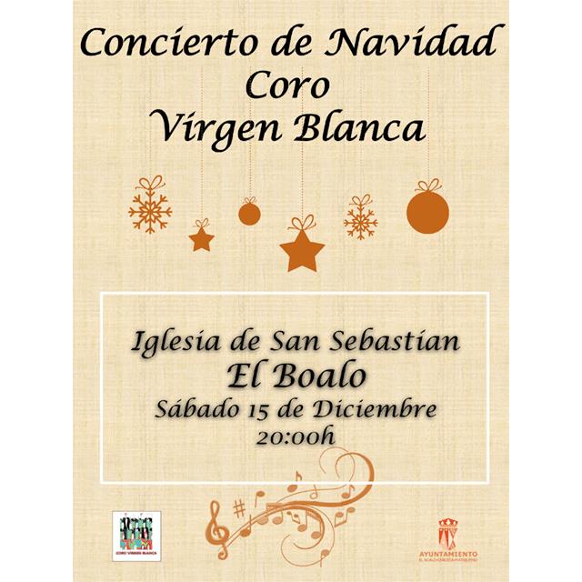 Concierto de Navidad: Coro Virgen Blanca.