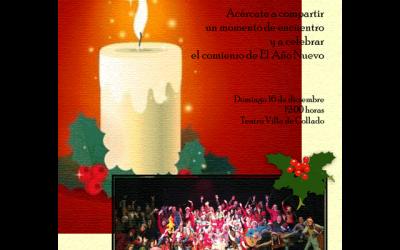 Concierto de Navidad: Escuela de Música de Collado Mediano.