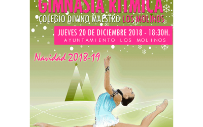 Exhibición de Gimnasia Rítmica Navidad 2018.