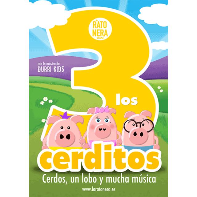 """La Ratonera Teatro + Dubbi Kids: """"Los tres cerditos"""""""