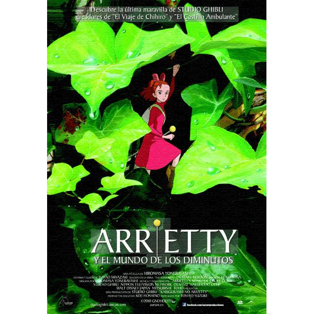 """Cine: """"Arrietty y el mundo de los diminutos""""."""
