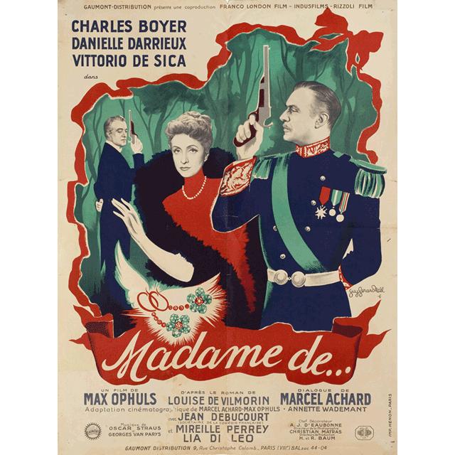 """Cine: """"Madame de…"""""""