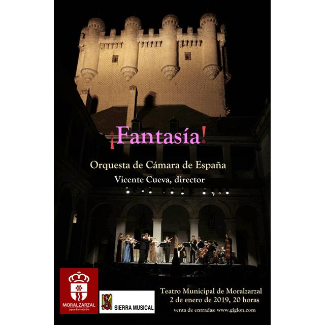 """Concierto de Año Nuevo: """"Fantasía""""."""