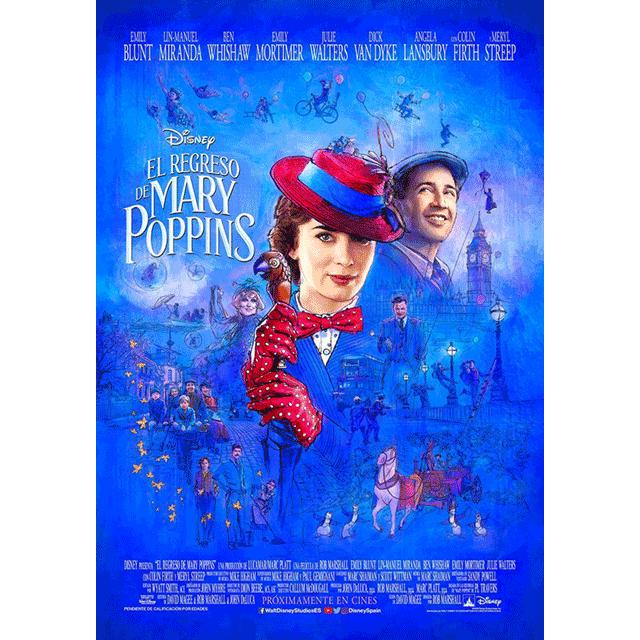 """Cine: """"El regreso de Mary Poppins""""."""