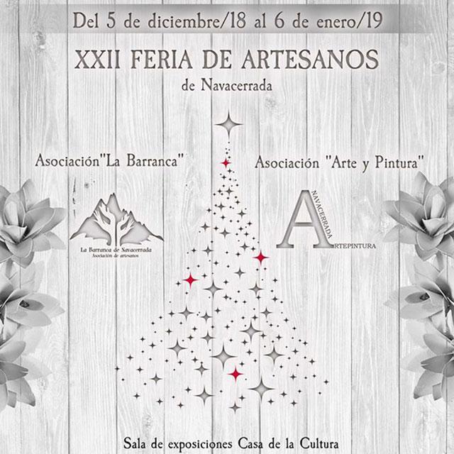 XXII Feria de Artesanos de Navacerrada
