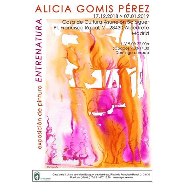 "Alicia Gomis Pérez: ""Entrenatura"""