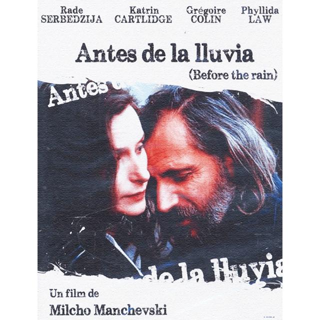 "Cine: ""Antes de la lluvia"""