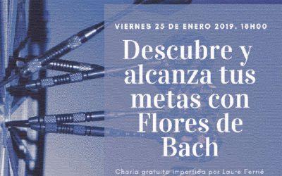 """Charla: """"Descubre y alcanza tus metas con Flores de Bach"""""""