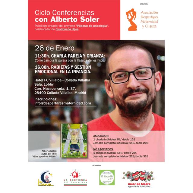 Ciclo de Conferencias con Alberto Soler.