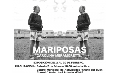 "Carolina Meramoretti: ""Mariposas""."