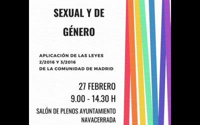 Jornada sobre diversidad sexual y de género.