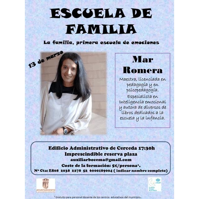 Escuela en familia: Mar Romera