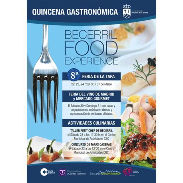 """Quincena gastronómica: """"Becerril Food Experience 2019"""""""