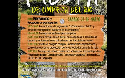 Fiesta de limpieza del río en Los Molinos.